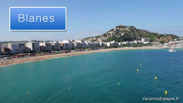 Carte Espagne Costa Brava Blanes.Guide De Voyage Avis Carte Et Video Touristique Sur Blanes