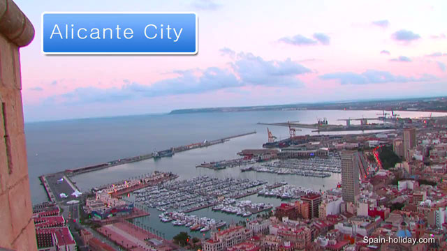 Map Of Spain Alicante Area.Alicante City Tourist Information Holiday Guide Video Reviews
