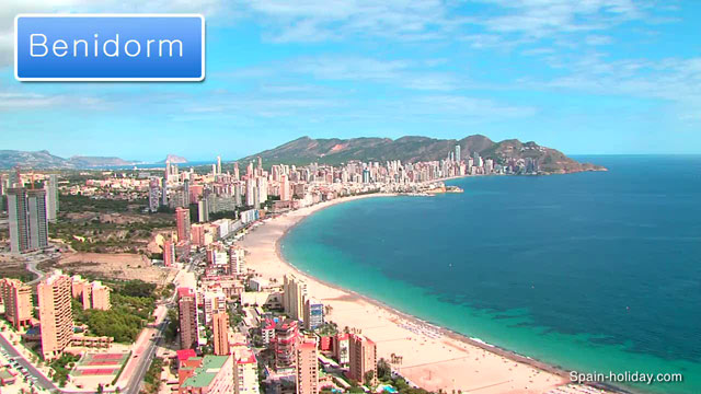Benidorm Costa Blanca travel guide video reviews facts and