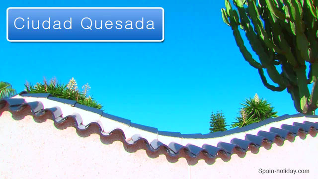 Street Map Of Quesada Spain.Tourist Guide Ciudad Quesada Holiday Information Facts Video