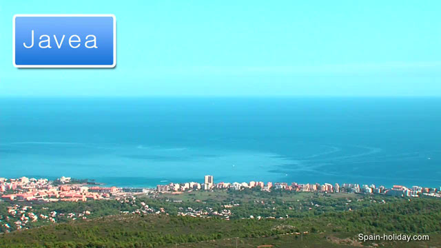 Javea Spain Map.Holiday Guide To Javea Costa Blanca Facts Video Reviews And Maps