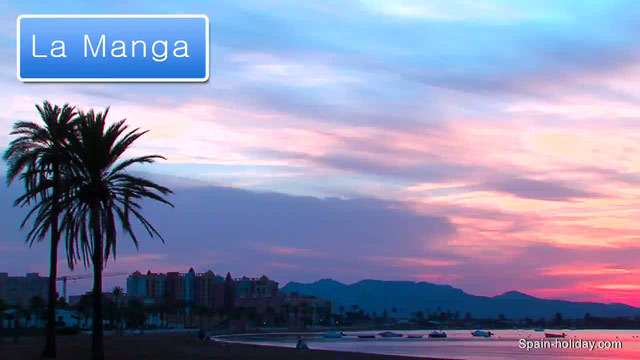 Map Of Spain La Manga.La Manga Mar Menor Holiday Guide Facts Video Reviews And Map
